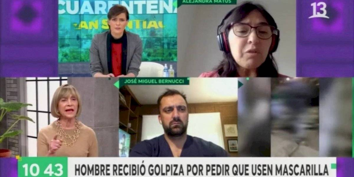 """""""Pensaba que cuando habíamos llegado a la democracia, había libertad de expresión"""": el round entre Evelyn Matthei y Alejandra Matus por la palabra """"flaite"""""""