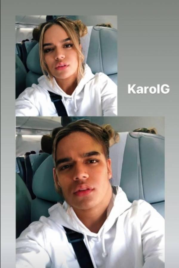 Karol G Faceapp