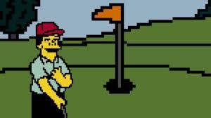 Los Simpsons Juego Golf