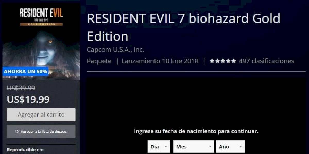 Residetn Evil 7, Far Cry y otros importantes títulos tienen más de 50% de descuento en la PlayStation Store