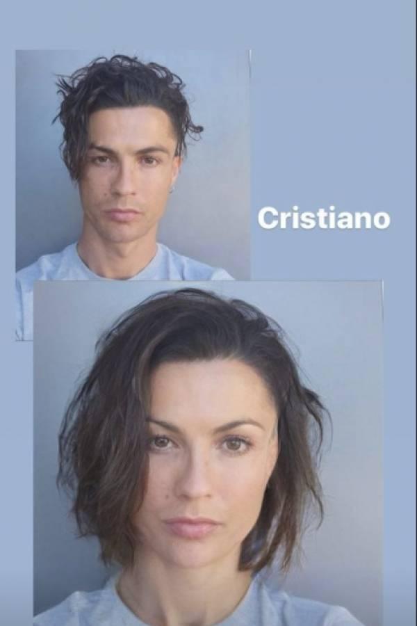 Ronaldo Faceapp
