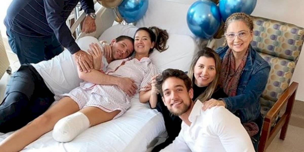Fortalecida ex Miss Colombia tras amputación de una pierna
