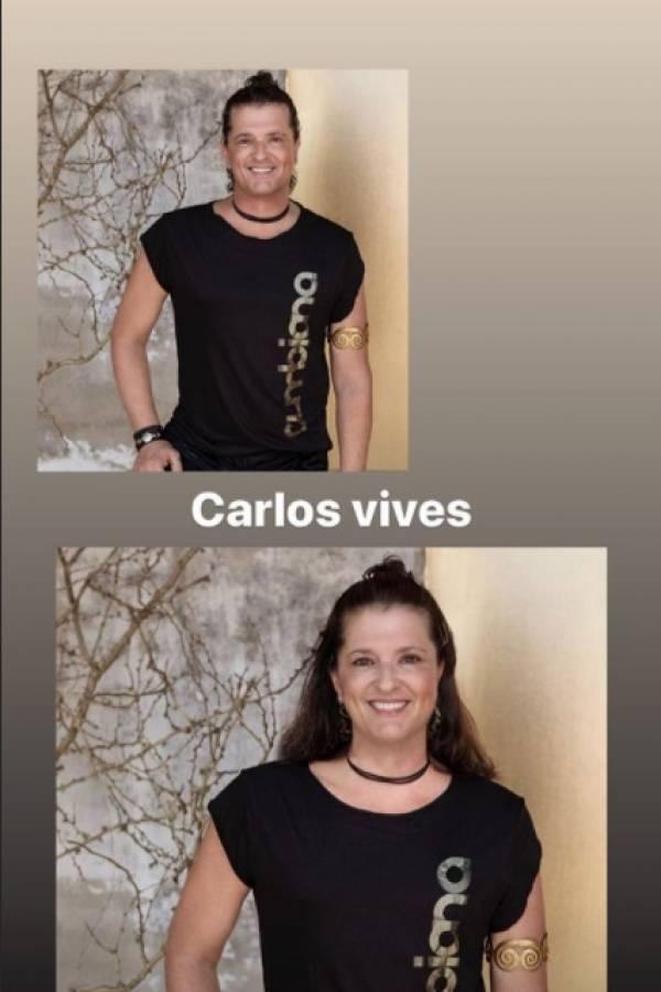 Carlos Vives Faceapp