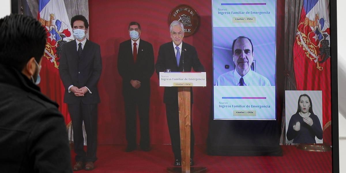 Piñera pide urgencia para proyecto que endurece penas por incumplir cuarentenas