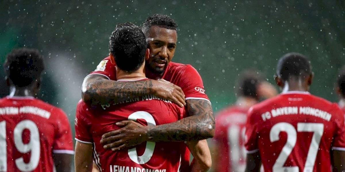 ¡Campeones! Robert Lewandowski le da el octavo título consecutivo al Bayern Múnich