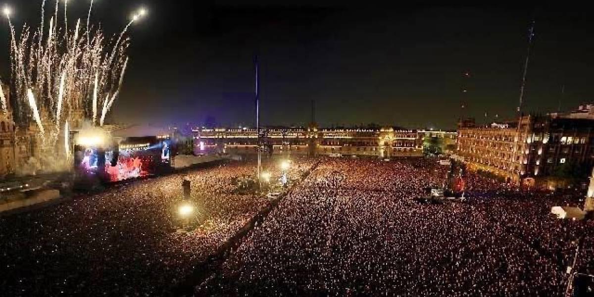 Justin Bieber publica foto de show de Paul McCartney e diz ser de sua turnê