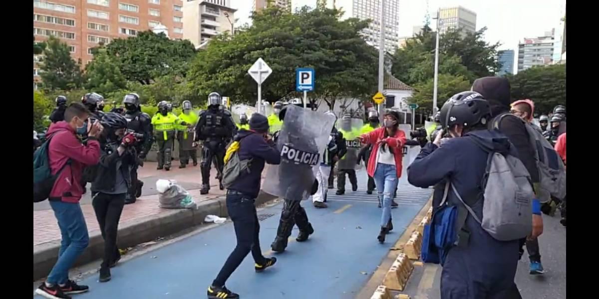 """""""Es vandalismo organizado"""": Claudia López condenó protestas que terminaron en desmanes"""