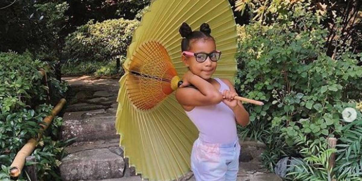 La lujosa vida de North West con tan solo 7 años