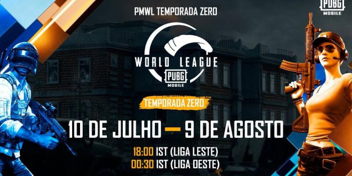 Revelado o torneio especial PUBG MOBILE World League Season Zero