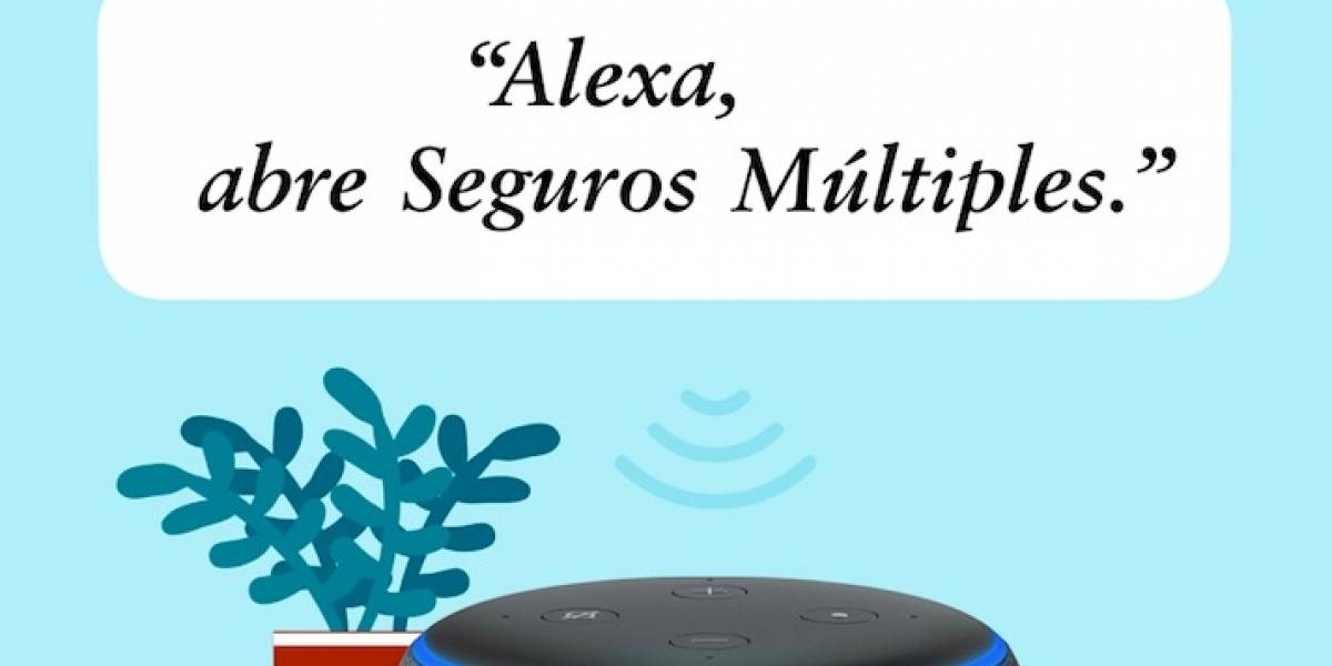 Seguros Múltiples ya está disponible en Alexa de Amazon