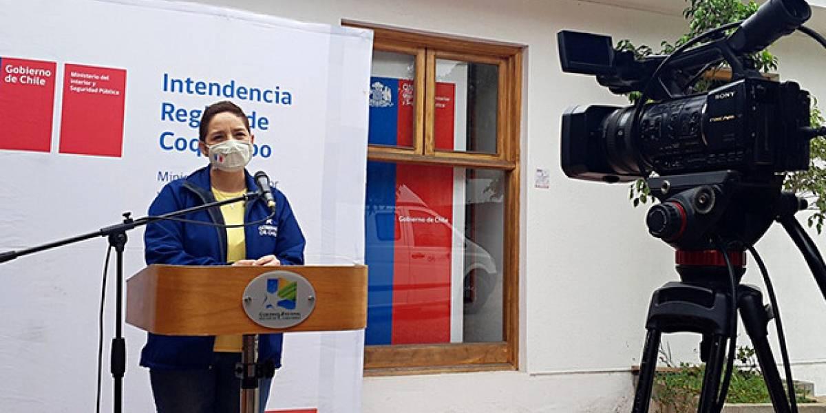 Intendenta de Coquimbo dio positivo por coronavirus