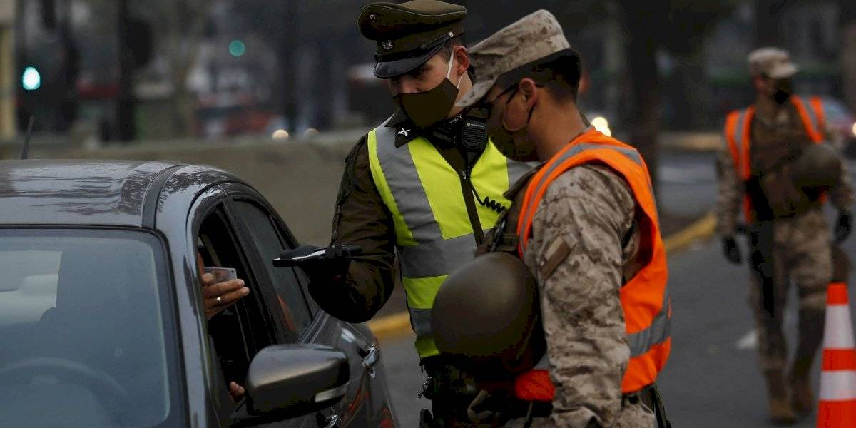 Los irresponsables de siempre: Carabineros reportó un total de 1.706 detenidos en la última jornada
