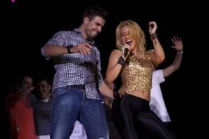 Shakira y Piqué en el 2010