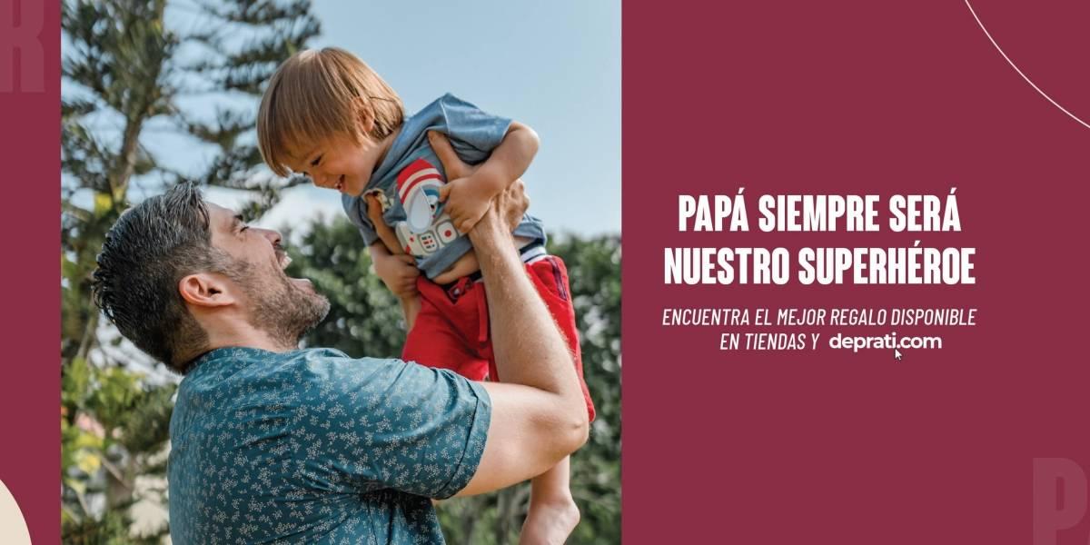 De Prati una opción para las compras por el Día del Padre