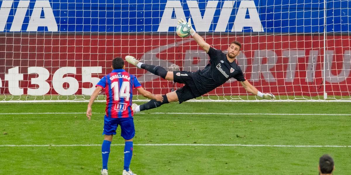 Fabián Orellana anotó de penal en resignado empate de Eibar ante Athletic Bilbao