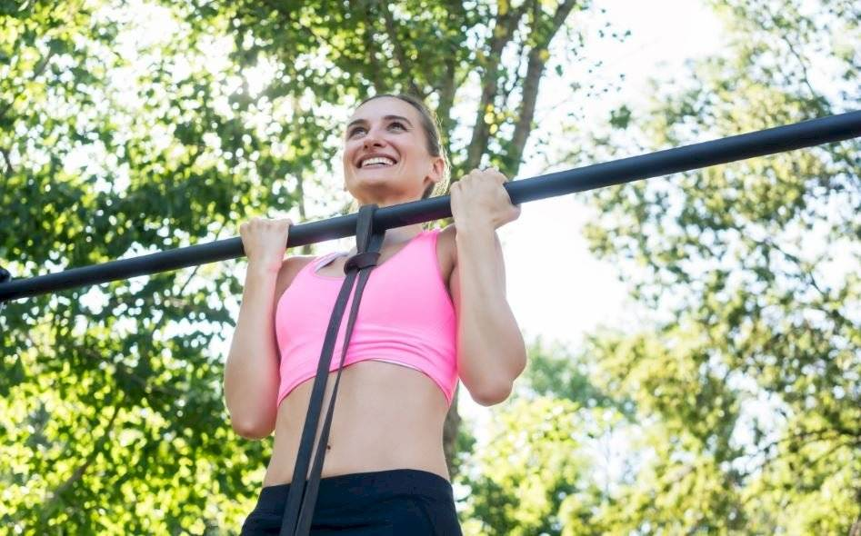 ejercicio con bastón