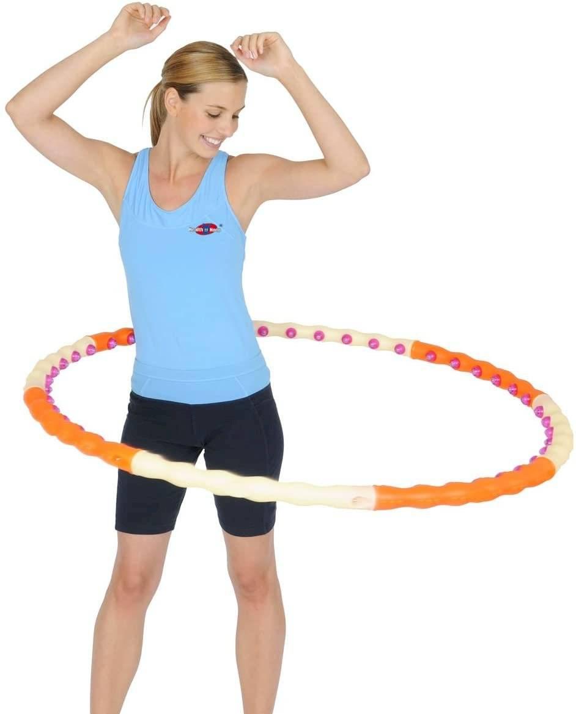 El ejercicio con el hula es especial para obtener una cintura de avispa