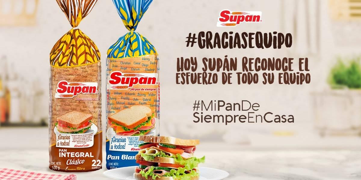 Bimbo Ecuador rinde homenaje a sus trabajadores con su marca 'Supán'