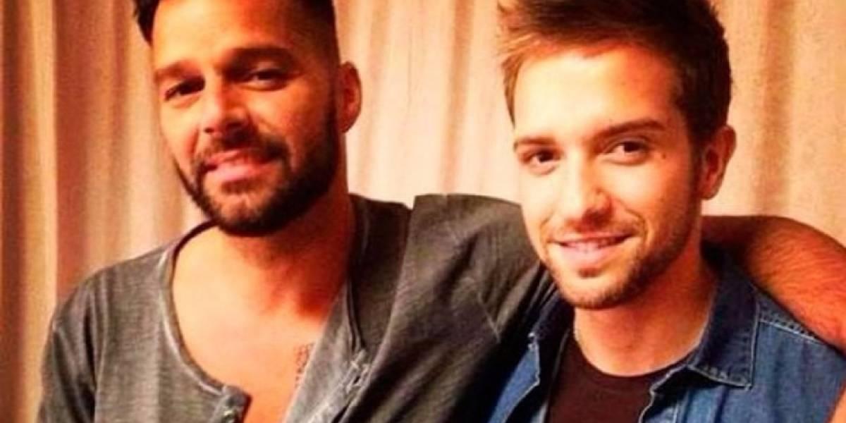 Por esto se desataron rumores de romance entre Pablo Alborán y Ricky Martin