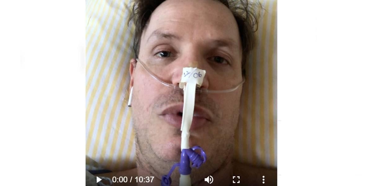 Covid-19: Ex-polegar continua na UTI, mas grava vídeo e diz que está vencendo a doença