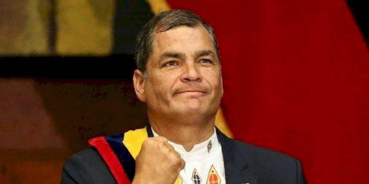 """Rafael Correa: """"si ganamos en el 2021, todo será revertido"""""""