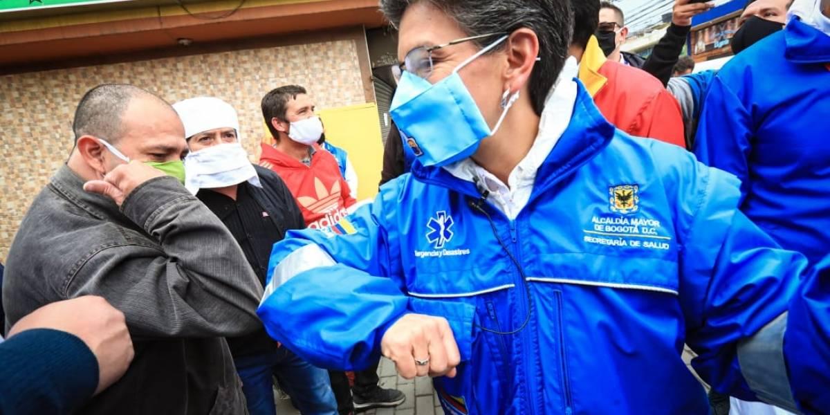 """""""No olvidemos que la pandemia está ahí"""": alcaldesa confirmó aumento de contagios en Bogotá y explicó la razón"""