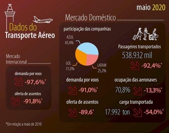 dados -voos domésticos