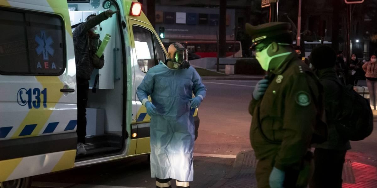 ¡El colmo!: asaltan a funcionarios de salud cuando atendían a una persona con covid-19