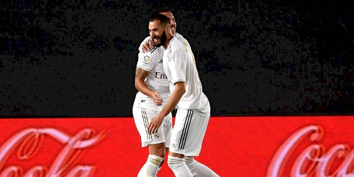 El emotivo mensaje de Benzema luego de marcar el mejor gol del año