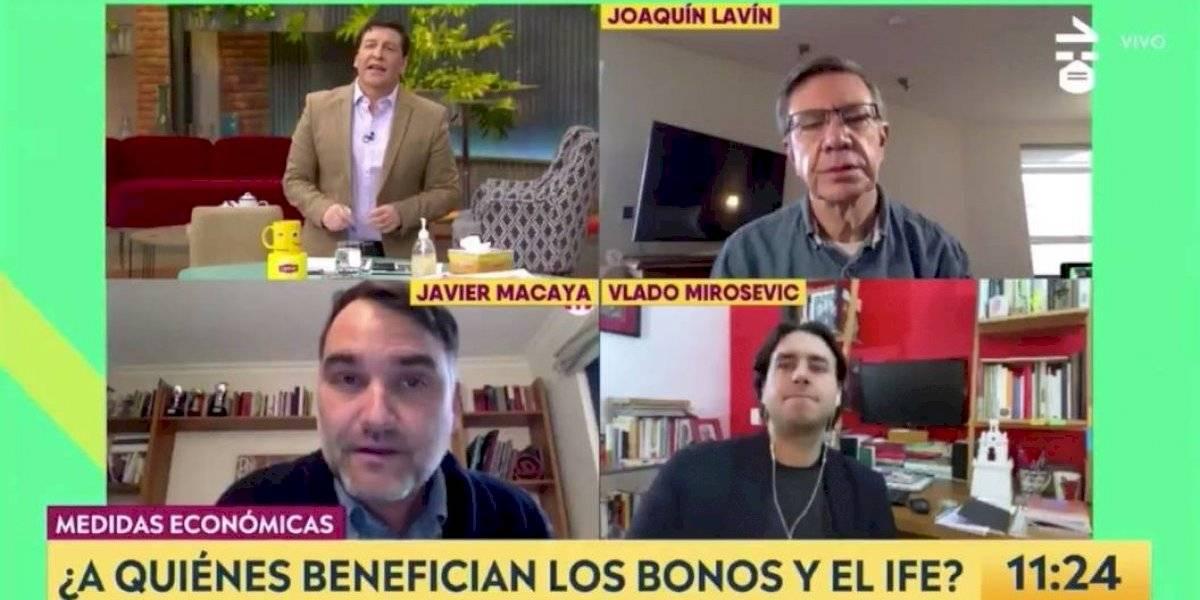 """""""Todos dicen que esto es un fracaso, menos los políticos"""": la arremetida de Julio César Rodríguez contra el diputado Javier Macaya"""