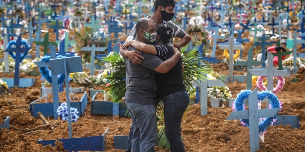 Brasil tem 46.860 novas infecções pelo coronavírus nesta sexta-feira