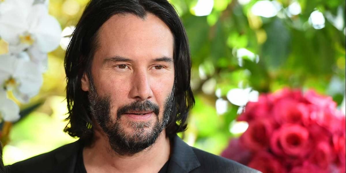 ¿Quieres una cita con Keanu Reeves? Es posible, no es barato, pero es por una buena causa