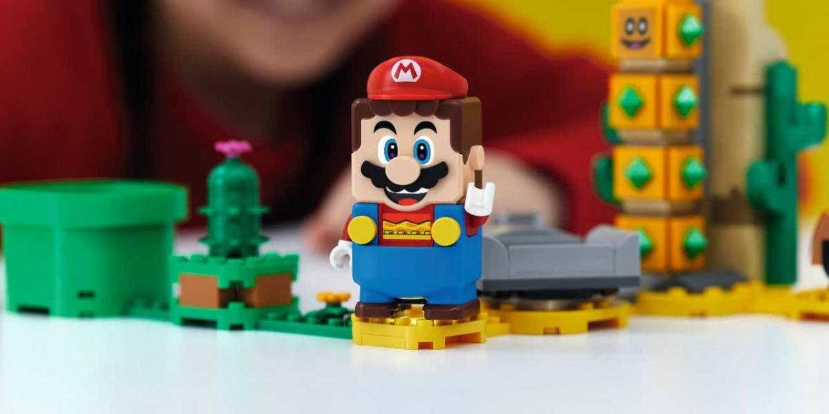 Coleção da LEGO com Super Mario será vendida no Brasil