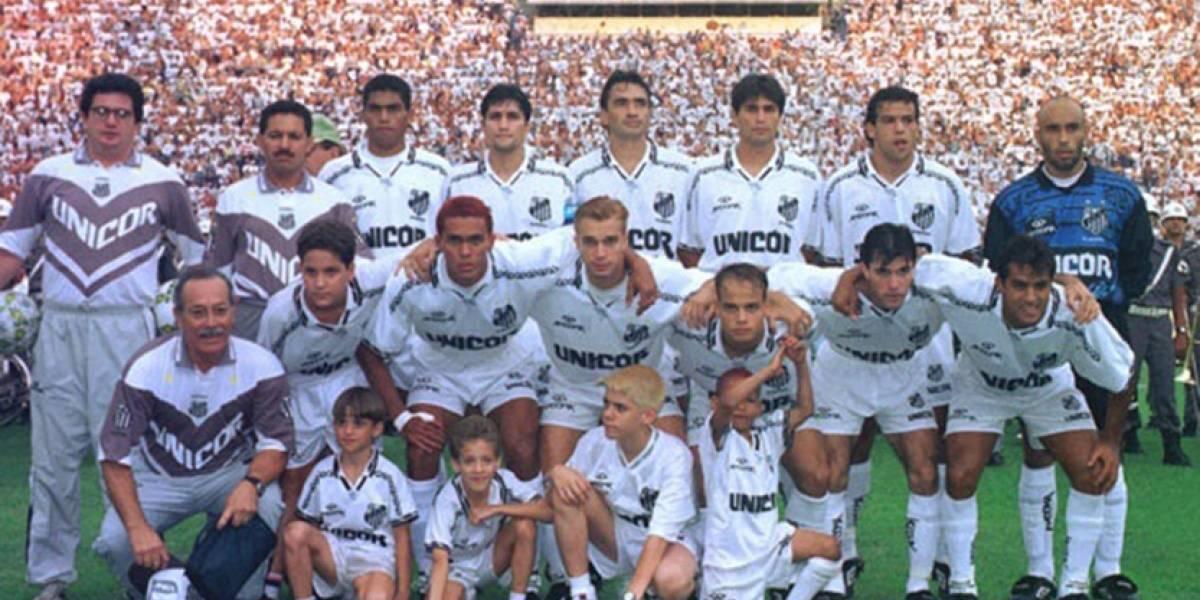 Band exibe virada do Santos sobre o Fluminense na semifinal do Campeonato Brasileiro de 1995