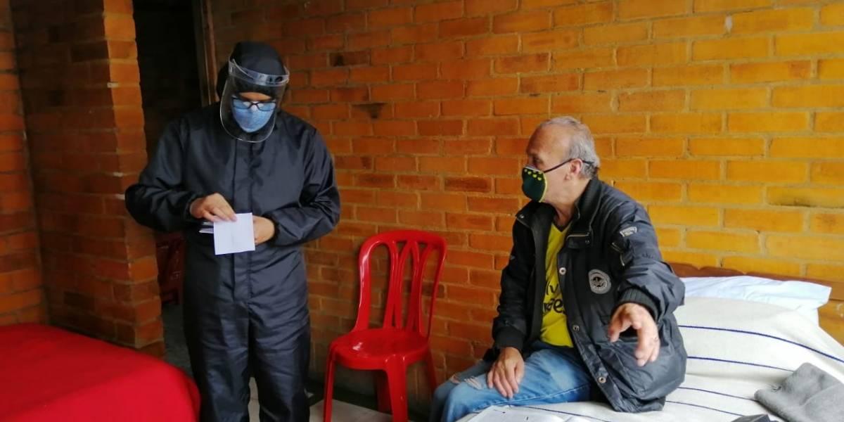 Grupo de adultos mayores logró superar el coronavirus en hogar del Distrito