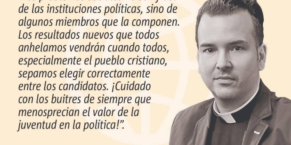 Opinión del Padre Orlando Lugo: Caras nuevas, resultados nuevos