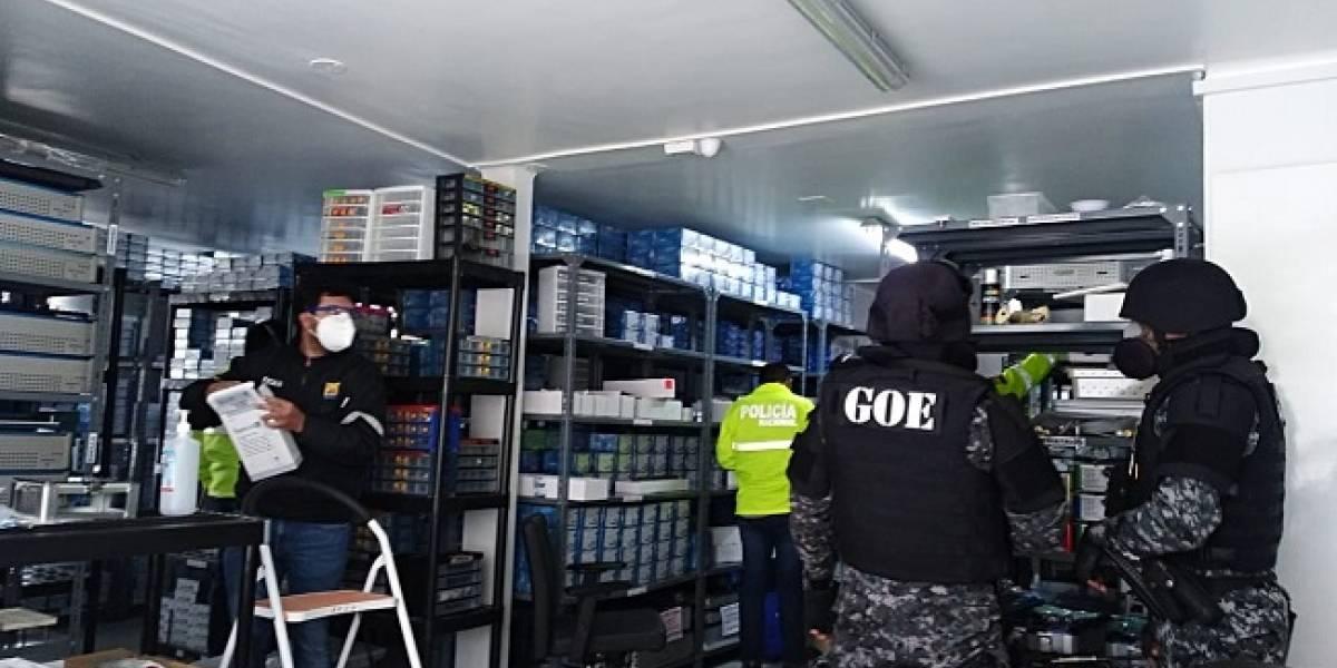 Más de 45 allanamientos por caso de hospitales deja 17 detenidos