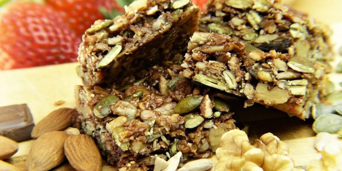 Prepara en casa estas nutritivas y deliciosas barras de avena
