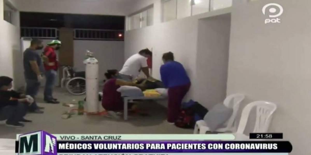 Escándalo en Bolivia por retransmisión en vivo por TV de la muerte de un paciente de coronavirus