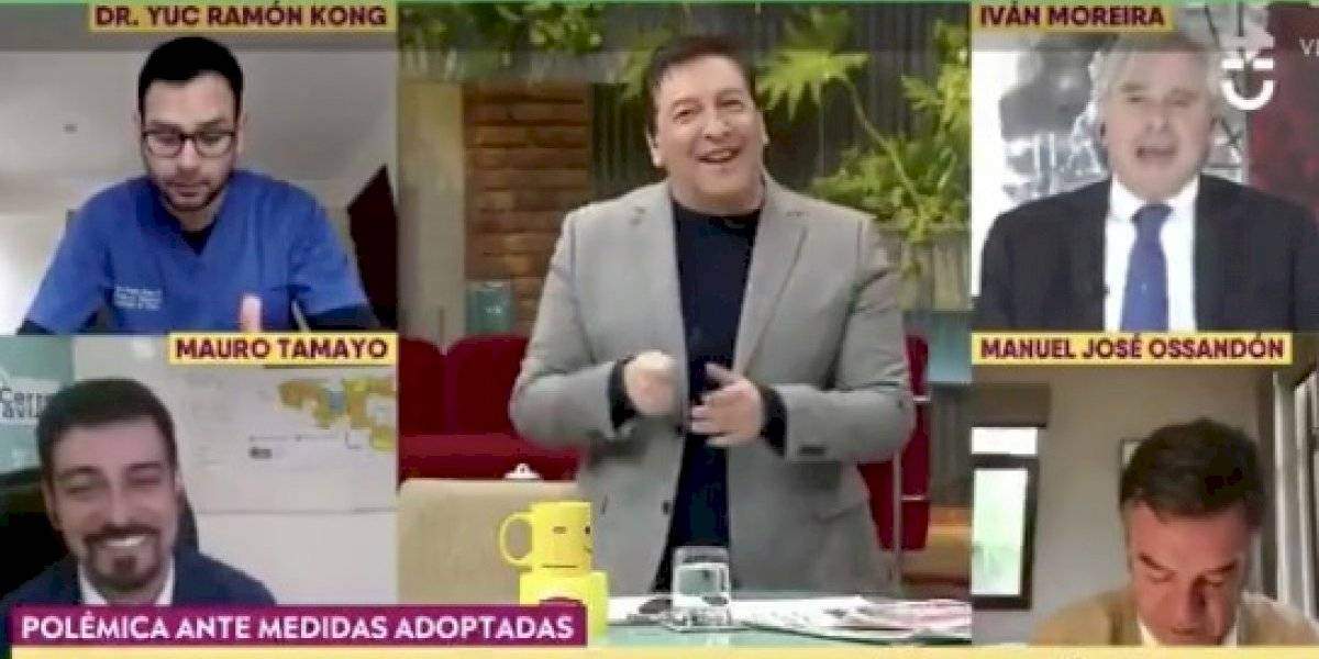 Julio César Rodríguez y su doble talla a Iván Moreira