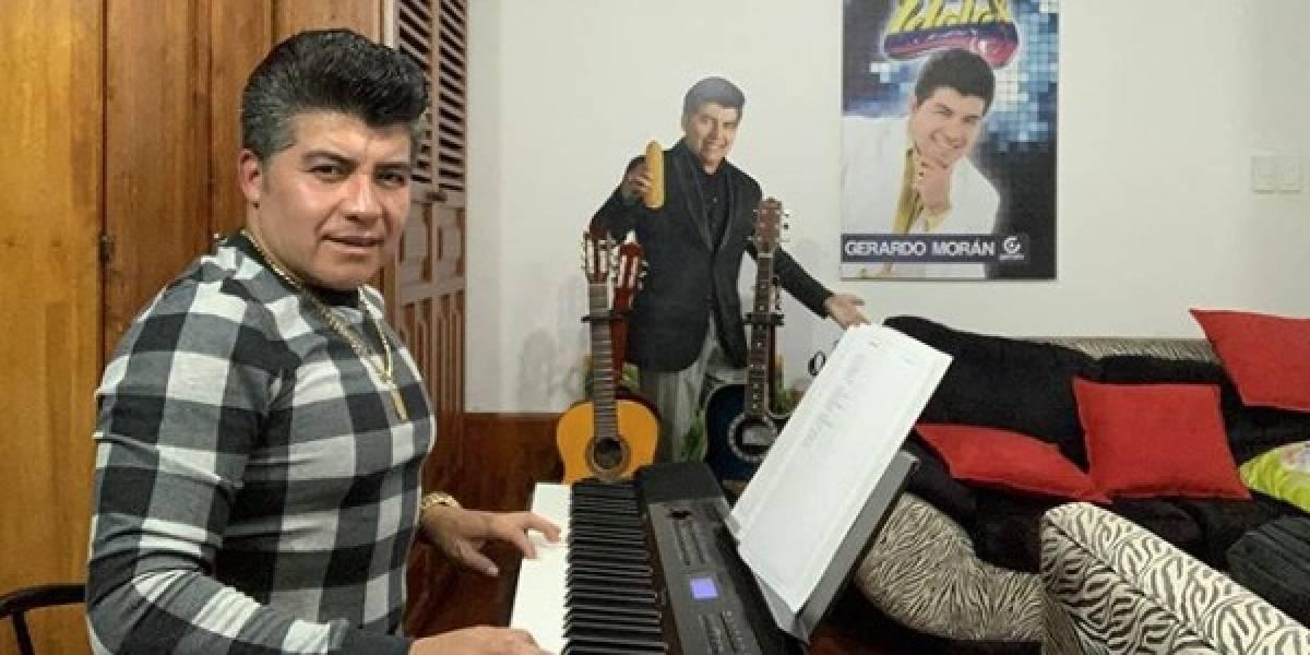 Gerardo Morán, el más querido, festeja a los padres ecuatorianos este domingo
