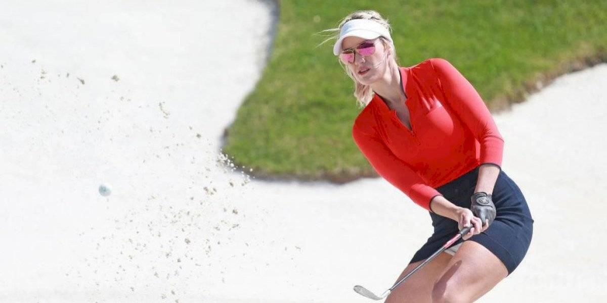 Paige Spiranac: estrella de golf remece las redes al confesar que juega sin ropa interior