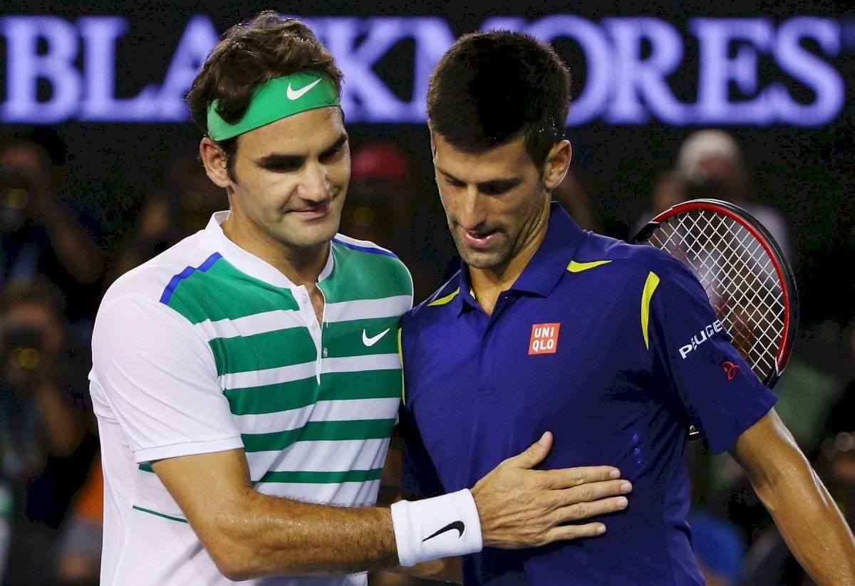 Federer y Djkovic