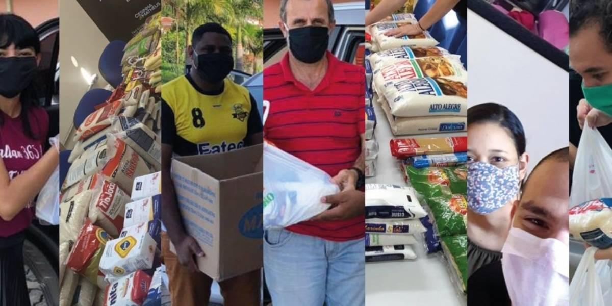 Fatecs e Etecs organizam doações de roupas, alimentos e produtos de limpeza