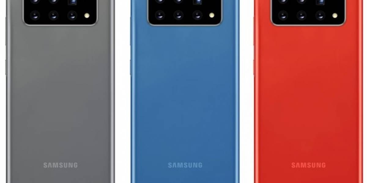 Samsung patentó una idea ambiciosa de integración de hasta seis cámaras en un celular