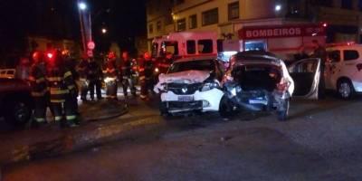 Acidente avenida Conselheiro Carrão