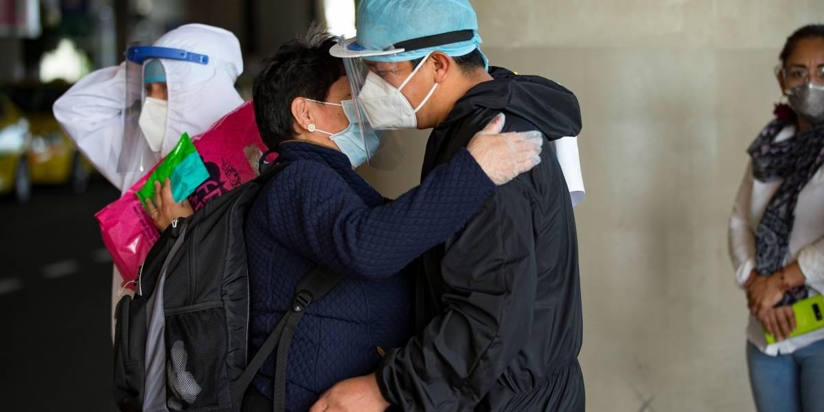 En un día Ecuador registró 452 nuevos casos de coronavirus