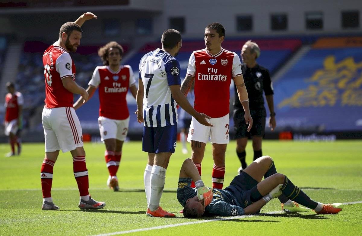 Lesión de Bernd Leno, arquero del Arsenal