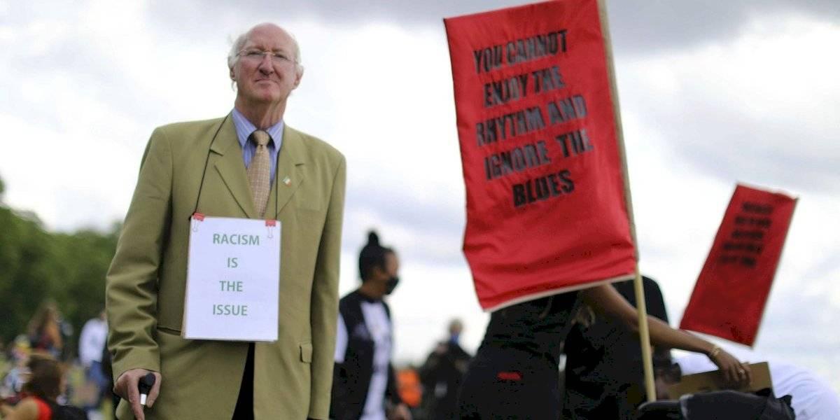 Realizan protestas contra el racismo en varias ciudades británicas