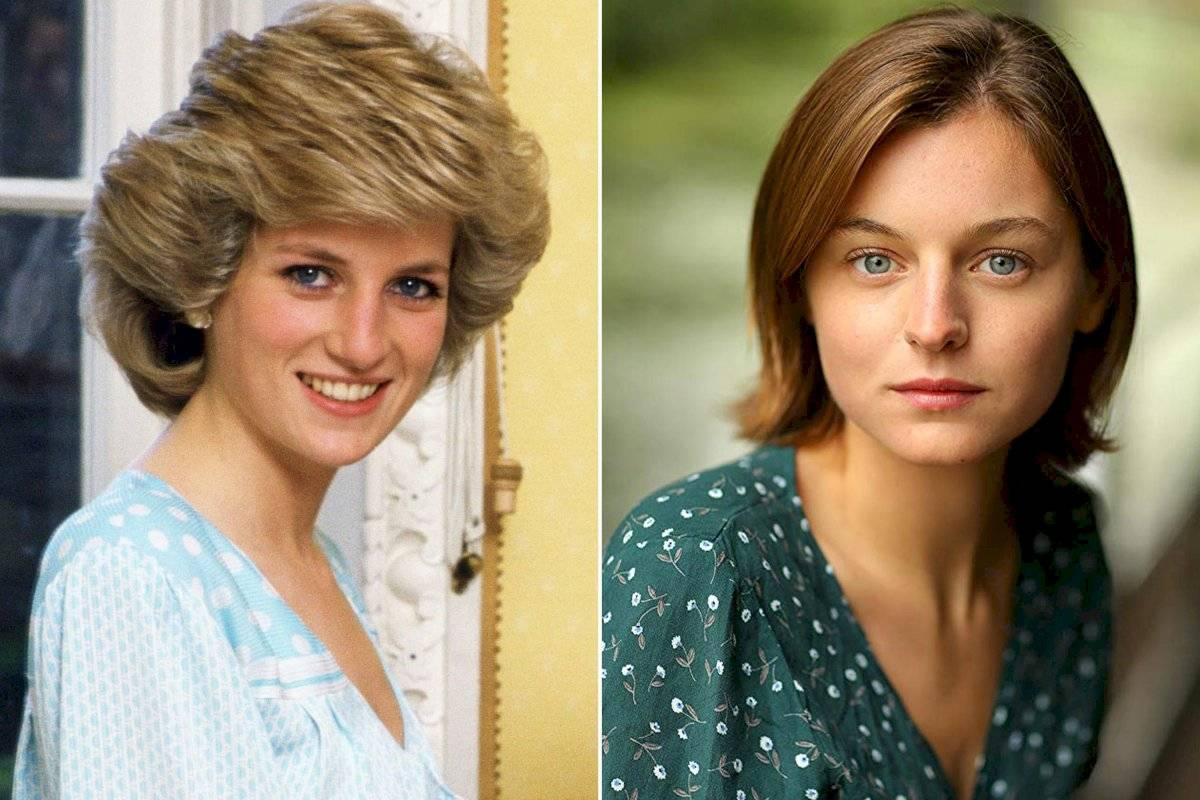 La británica Emma Corrin encantó a todos con su papel de la princesa Diana